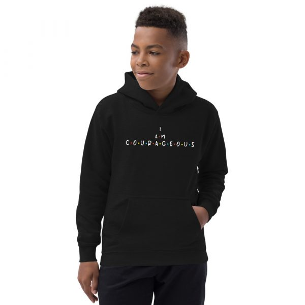 I Am Courageous - Youth Hoodie 3