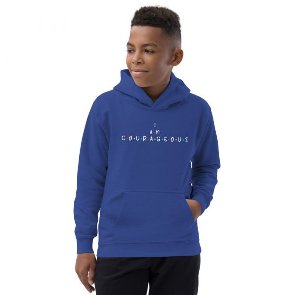 I Am Courageous - Youth Hoodie 1