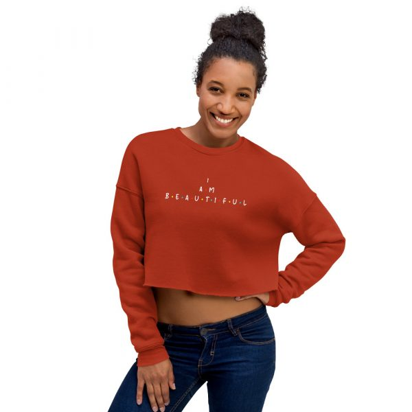 I Am Beautiful - Crop Sweatshirt 4